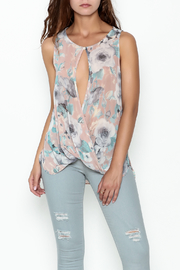 jella c Floral Open Blouse - Product Mini Image