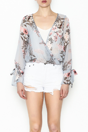 jella c Floral Print Top - Front full body