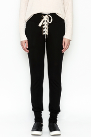 jella c Tie Front Pants - Front full body