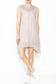 jella c Unbalanced Mauve Dress - Product Mini Image