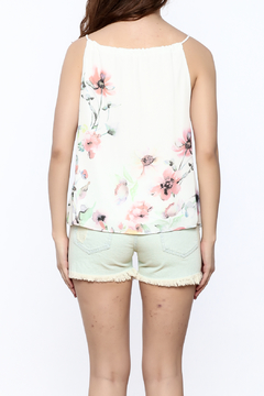 Jella Couture Floral Drawstring Top - Alternate List Image