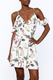 Jella Couture Floral Wrap Dress - Product Mini Image