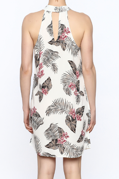 Jella Couture Tropical Print Sleeveless Dress - Alternate List Image