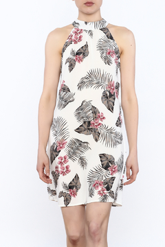 Shoptiques Product: Tropical Print Sleeveless Dress