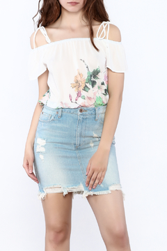 Jella Couture Lightweight Floral Top - Product List Image