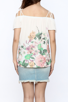 Jella Couture Lightweight Floral Top - Alternate List Image