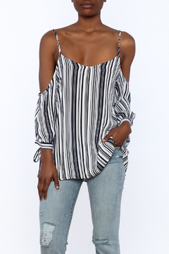 Shoptiques Product: Stripe Tunic Blouse
