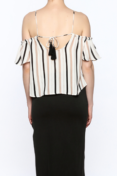 Jella Couture Stripe Print Top - Alternate List Image