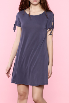 Shoptiques Product: Tie Up Sleeve Dress