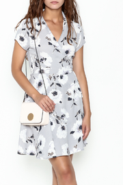 Jella Floral Wrap Dress - Product Mini Image