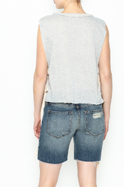 Jella Open Side Top - Back cropped