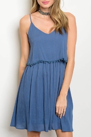 jella c Blue Strap Dress - Product Mini Image