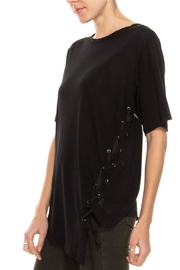 jella c Lace Up Top - Front full body