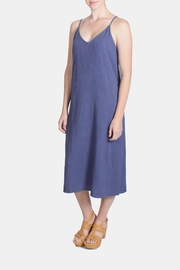 Jella Couture Periwinkle Linen Slip Dress - Product Mini Image