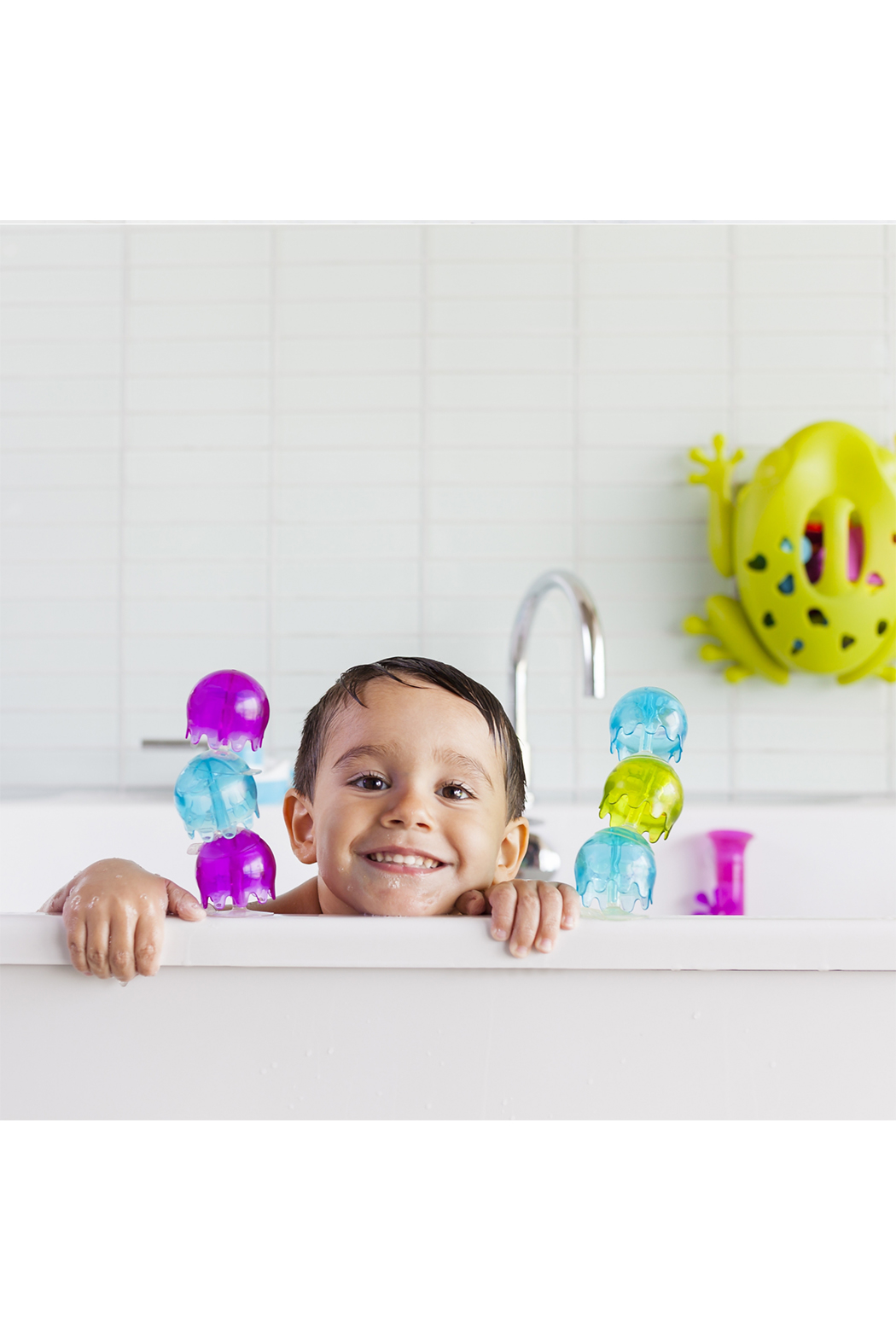 boon by Tomy Jellies Suction Cup Bath Toys - Front Full Image