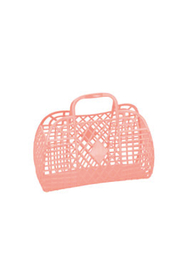 SunJellies Jelly Retro Basket - Small - Front cropped