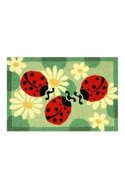 Jelly Bean Rugs Ladybug Floor Mat - Front cropped