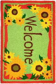 Jelly Bean Rugs Indoor Outdoor Rug - Front full body