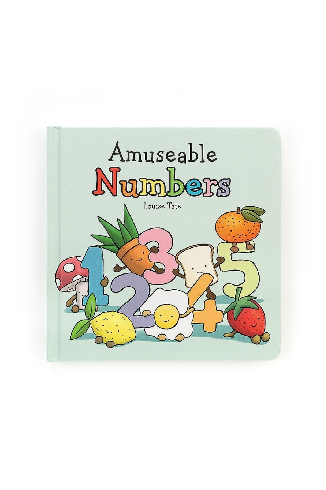 Jellycat Amuseable Numbers Book - Main Image