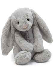Jellycat Bashful Grey Bunny Toy - Product Mini Image