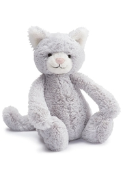Jellycat Bashful Grey Kitty Toy - Product Mini Image