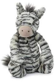 Jellycat Bashful Zebra Toy - Product Mini Image