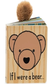 Jellycat If I Were A Bear Book - Front cropped