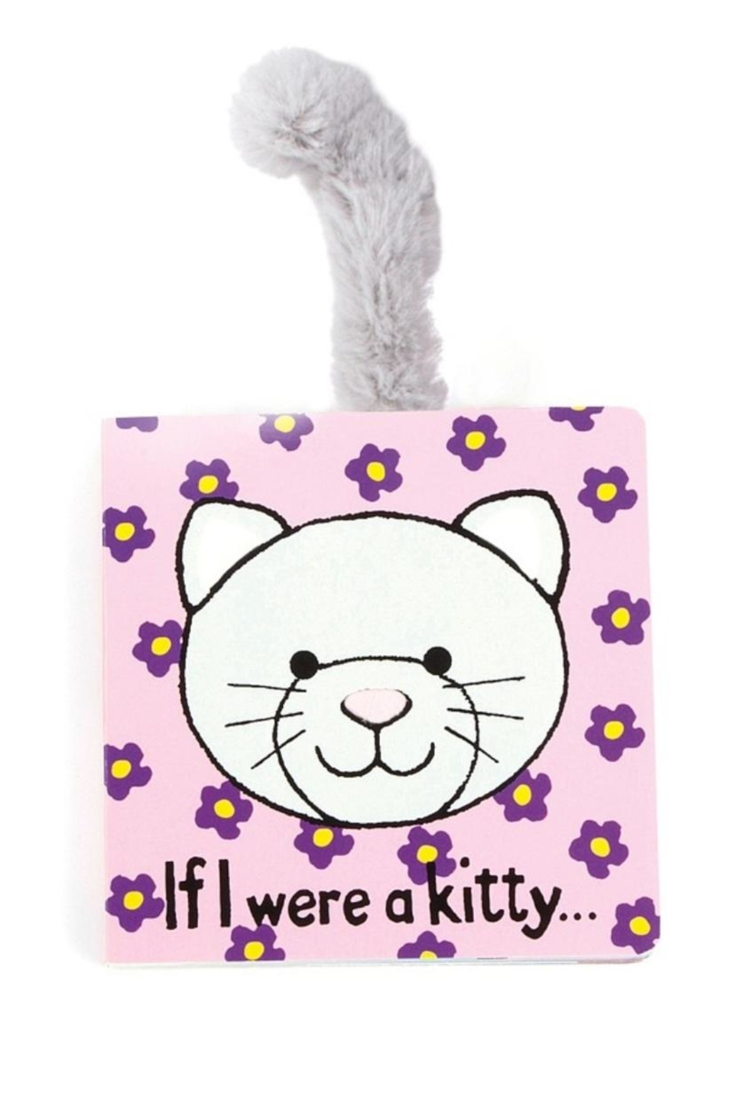 Jellycat Kitty Board Book - Front Cropped Image