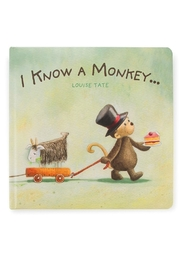 Jellycat Know Monkey Book - Product Mini Image