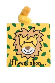 Jellycat Lion Board Book - Front cropped