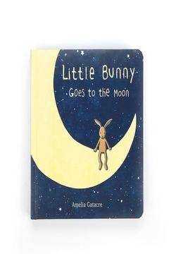 Jellycat Little Bunny Moon-Book - Product List Image