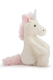 Jellycat Medium Bashful Unicorn Toy - Front full body