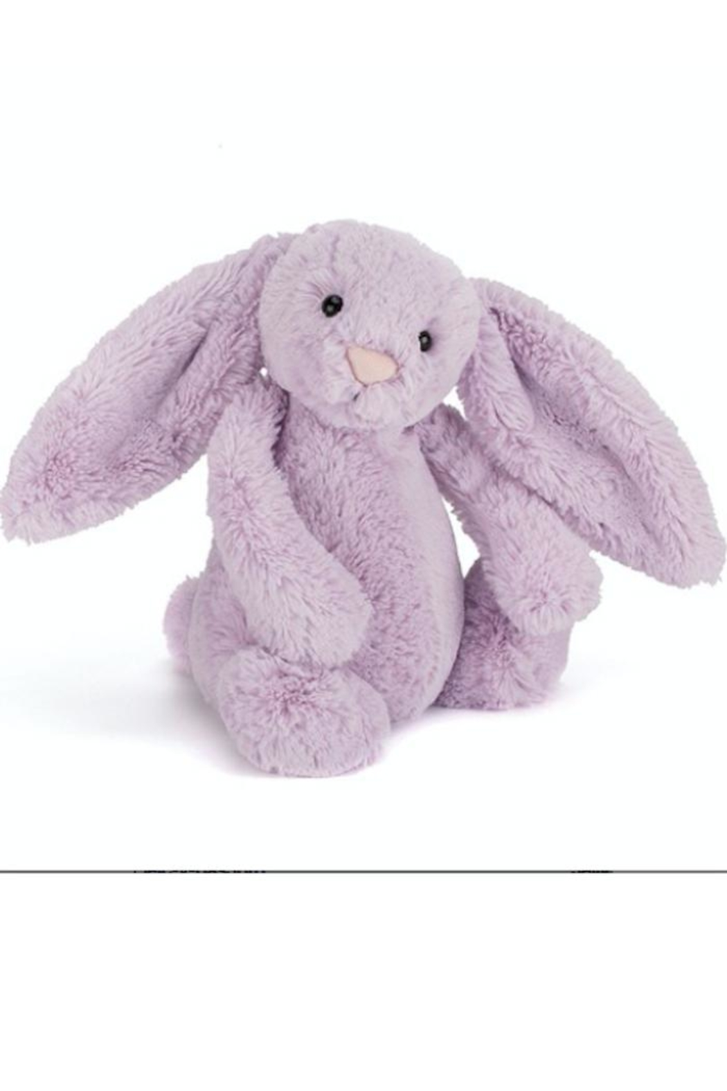 Jellycat Medium Lilac Bunny - Front Cropped Image