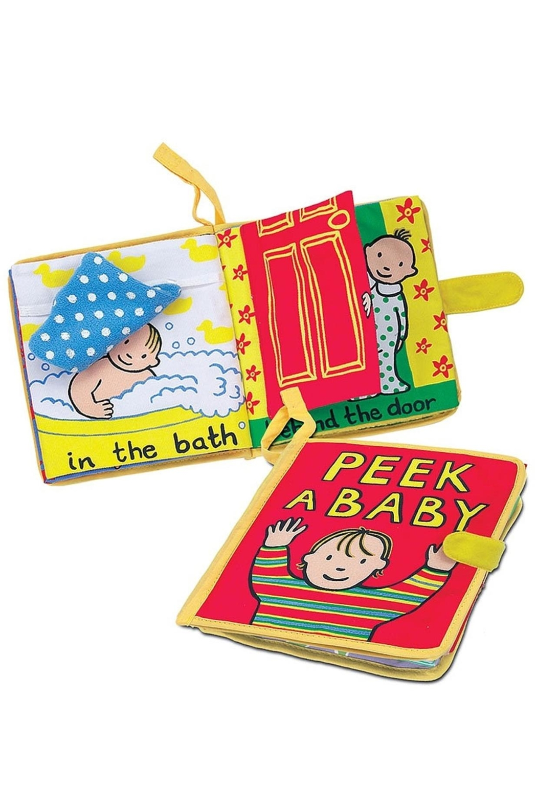 Jellycat Peek Baby Book - Front Cropped Image