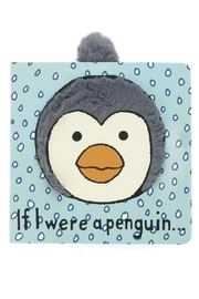 Jellycat Penguin Board Book - Front cropped