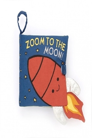 Jellycat Zoom To The Moon Book - Front cropped
