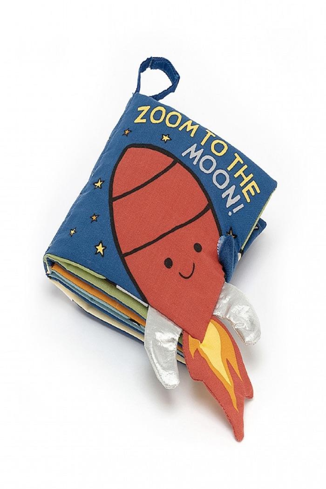 Jellycat Zoom To The Moon Book - Front Full Image