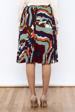 Shoptiques Product: Geometric Printed Skirt