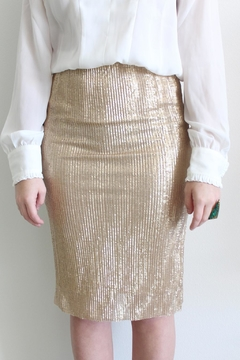 Shoptiques Product: Goldie Sequin Skirt