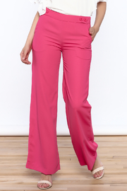 Jenn Pink Wide Leg Pants - Product Mini Image