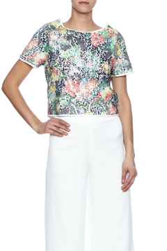 Jenn Sequin Printed Top - Product List Image