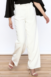 Jenn Yellow Wide Leg Pants - Product Mini Image