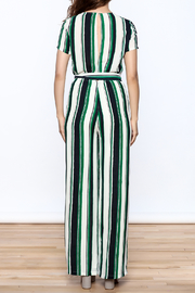 Jenn Bold Stripe Print Jumper - Back cropped