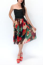 Jenn Louise Plisse Skirt Multicolor - Product Mini Image