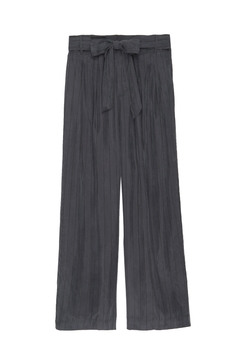 Shoptiques Product: Jenna Charcoal/black Pinstripe
