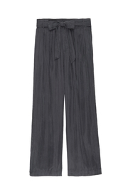 Rails Jenna Charcoal/black Pinstripe - Front cropped