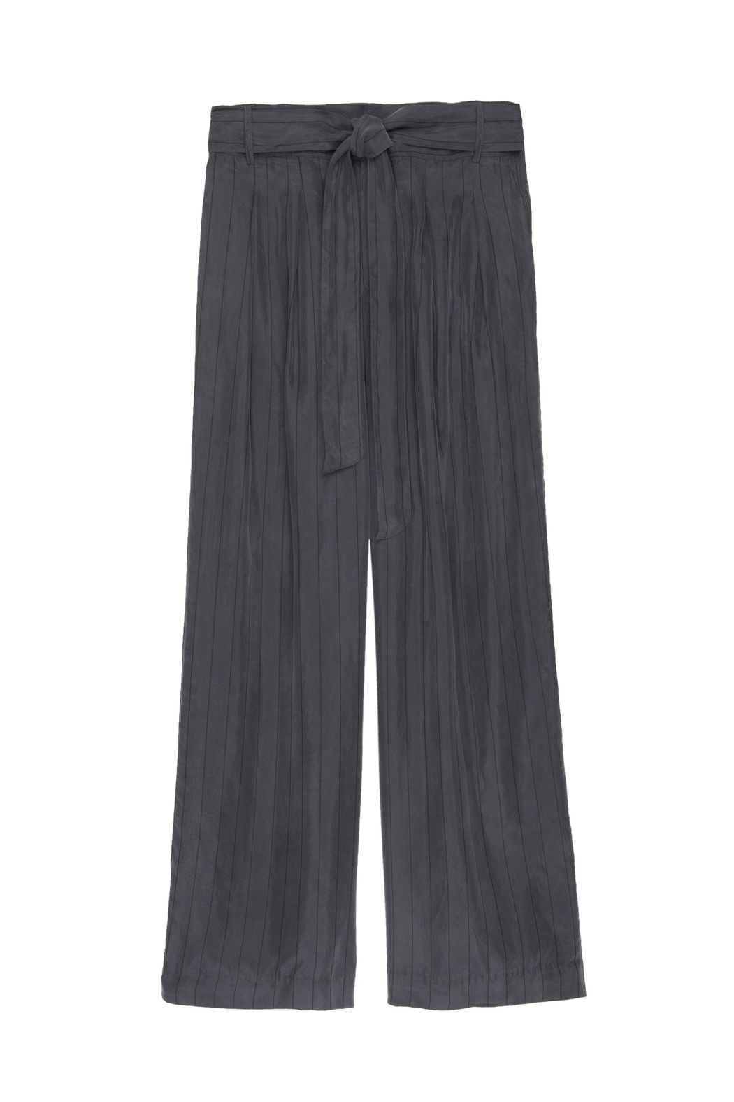 Rails Jenna Charcoal/black Pinstripe - Side Cropped Image