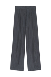 Rails Jenna Charcoal/black Pinstripe - Front full body