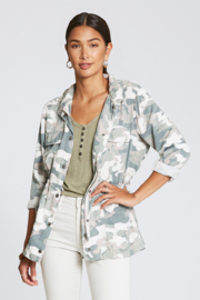 Dear John Denim Jenny Camo Jacket - Product Mini Image