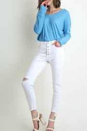 Umgee USA Jenny High-Rise Skinny - Front cropped